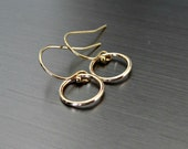 Tiny Gold Filled Hoop Earrings - Small - Dainty - Minimalist