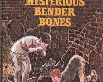 The Mysterious Bender Bones Vintage Weekly Reader Childrens Book by Susan Meyers