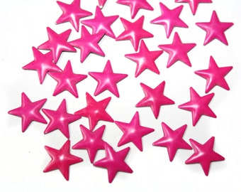 50 PCS Pink Hotfix Stars for Crafts and Nails Art