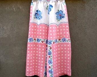 Kids pant set vintage fabric age 5 - 6