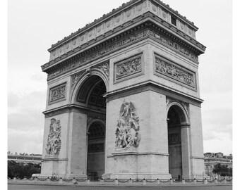Paris Arc de Triomphe France Photo Print