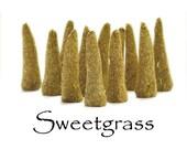 Sweetgrass Artisan Hand Made Incense Cones