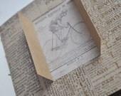Handmade Handbound Journal Art Book, Scrapbook, blank book, Memory, Slam, Artbook, Steampunk, punk, Script, Hardcover, Hard Cover