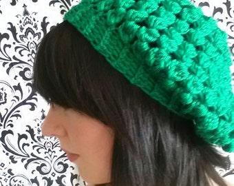 Slouchy Crochet Hat Custom Colors