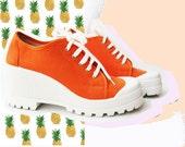 90s Platform Vintage Sneakers
