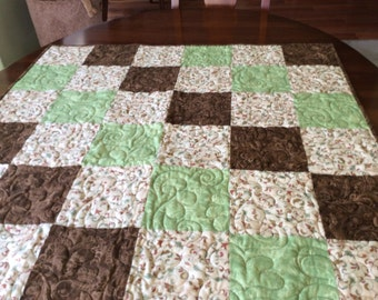 Funky Hand Made Quilt