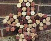Fleur de Lis - Wine Cork Monogram - Louisiana