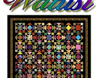 WATUSI -  Quilt-Addicts Patchwork Quilt Pattern
