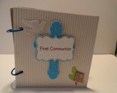 Boy's First Communion Scrapbook