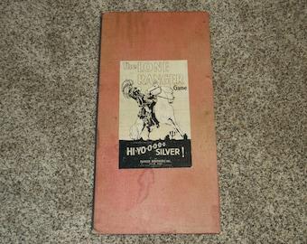 Vintage 1938 Lone Ranger Game Board