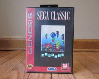 Columns Game Sega Genesis