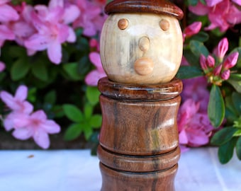 Hand Carved Toothpick Holder SP13