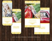 INSTANT DownloadSenior Rep Card Template - Millers and WHCC - R16