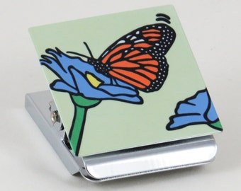 Monarch Butterfly Clip Magnet