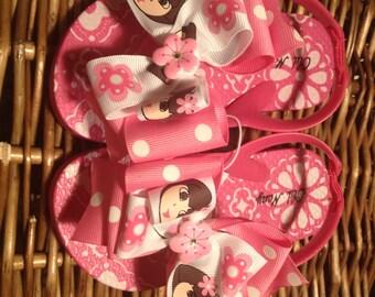 Dora the Explorer Flower Toddler Flip Flops