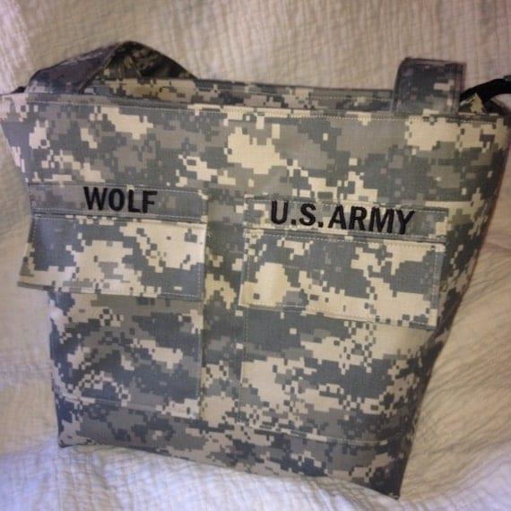 Military Pocket Purse