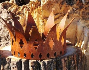 Rustic CROWN  Large  FREE SHIPPING