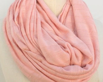 Oversized large long Peach infinity  Scarf scarves, Peach Scarve scarves,  womens scarves, Extra Long  large  infinity scar, womens gifts