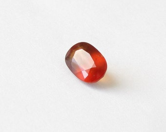 Natural Orange Brownish Hessonite Garnet, Unheated, Oval Cut, 2.52 carats