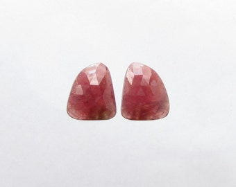 Natural Pink Red Sapphire, Lot (2) of 13.78 carats