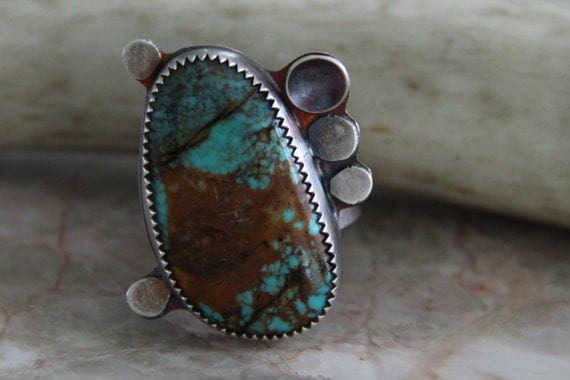 """Turquoise Ring - """"Earthy Gal Ring"""""""