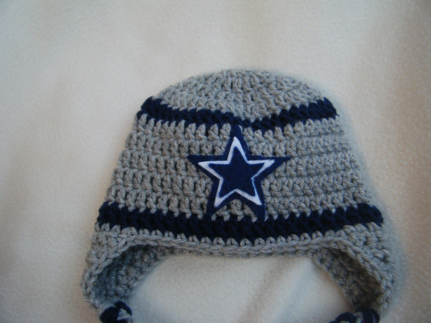 Crocheted Raiders Inspired Team Colors Or Choose Your Team