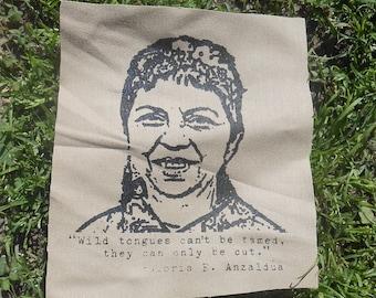 Gloria E. Anzaldúa patch