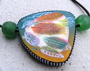 Wonderful Herbal Print - Polymer Clay Tutorial