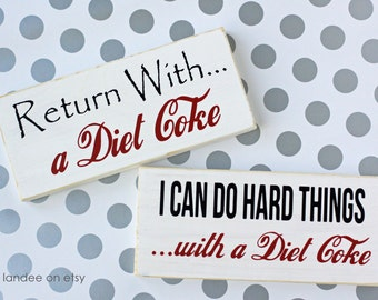 Diet Coke boards - perfect for any occasion!