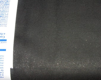 Black Form-Flex cotton woven fusible interfacing 22' BTY