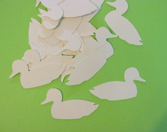 Duck confetti (100 count) duck dynasty inspired confetti, large confetti/die cuts