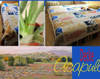 "bed throw  ""Acapulco"""