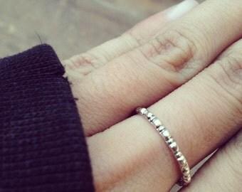C3 Handmade sterling silver ring