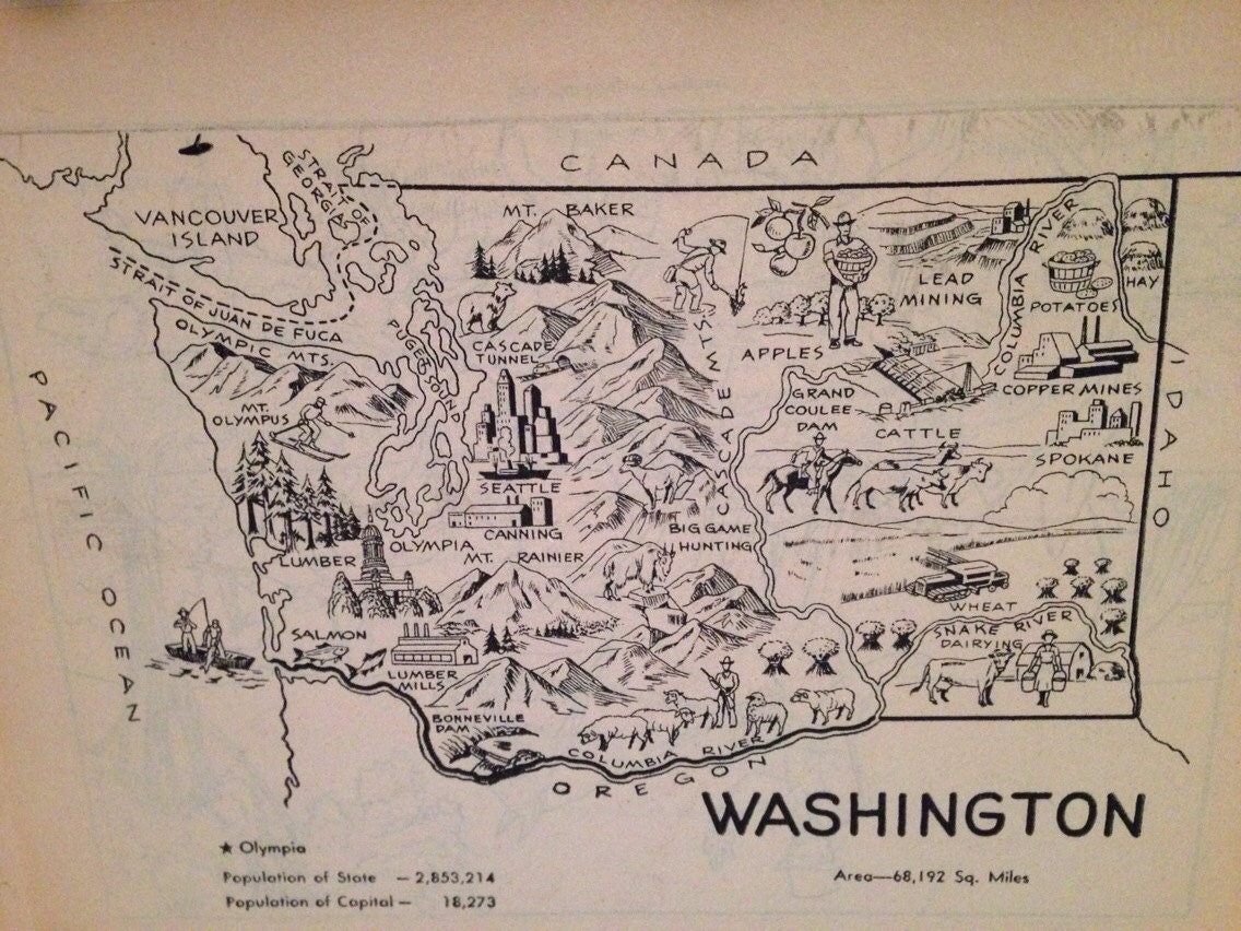vintage seattle map with Washington Map Print 1950s Illustrated on 6261481132 in addition Pennsylvania State Police Cruisers Get Major Makeover together with  furthermore Baist 27s 20Real 20Estate 20Atlas 20of 20Seattle likewise 3920275096.