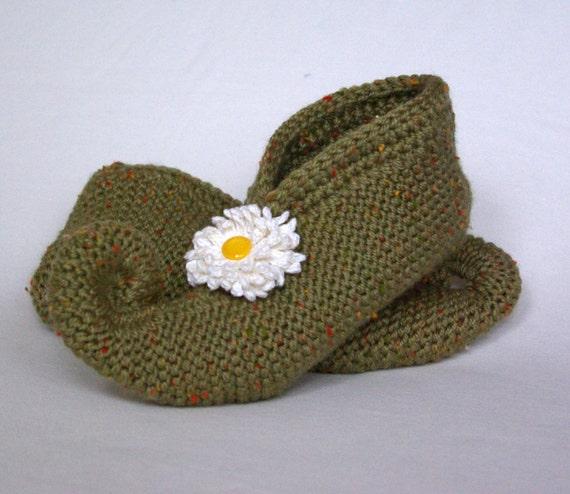 Knitting Pattern For Elf Slippers : knitted slippers handmade pixie slipper elf slipper by ...