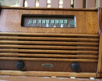 1946 AM Air King radio