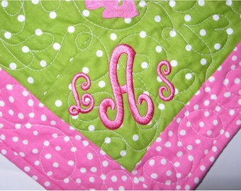 professional personalization or monogram- add a name or monogram to items for a custom look
