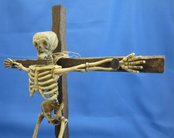Crucified Skeleton