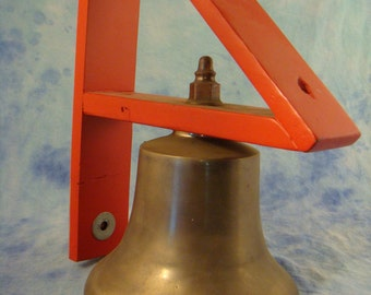 Cast Brass Fire Bell
