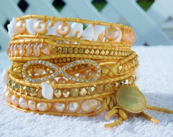 Kipona Aloha Wrap Bracelet