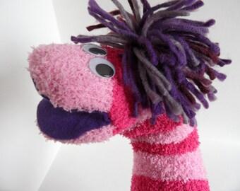 Bookynn- Sock Puppet Hand Puppet for Adoption