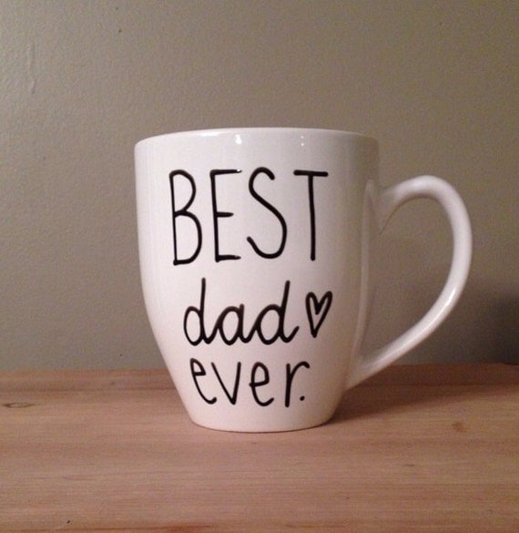 Best dad ever meilleur papa jamais mug tasse caf pour - Tasse fete des peres ...