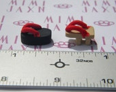 10pcs Polymer Clay Miniature Traditional Japanese Sandals
