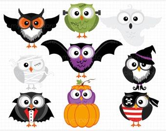 Halloween owls | Etsy