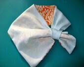 ON SALE,20%OFF,Silk KImono Fabric Scarf,Reversivle Scarf,