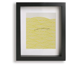 Fields Of Gold inspired song lyric art - home decor, wall decor, living room, gallery wall, wall art, anniversary, wedding gift