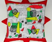 SALE - Atomic mobiles cushion cover