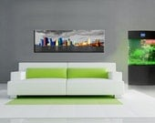 Abstract new york city painting style  art canvas work, Canvas oil printing.