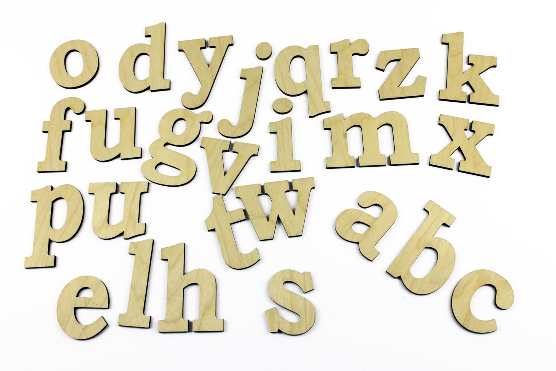 Dorable Wooden Alphabet Wall Decor Embellishment - The Wall Art ...