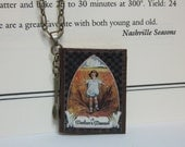 Miniature Book Necklace - A Mother's Manual